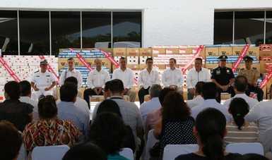 Destruye SAT en Yucatán más de 11 millones de cigarros ilegales