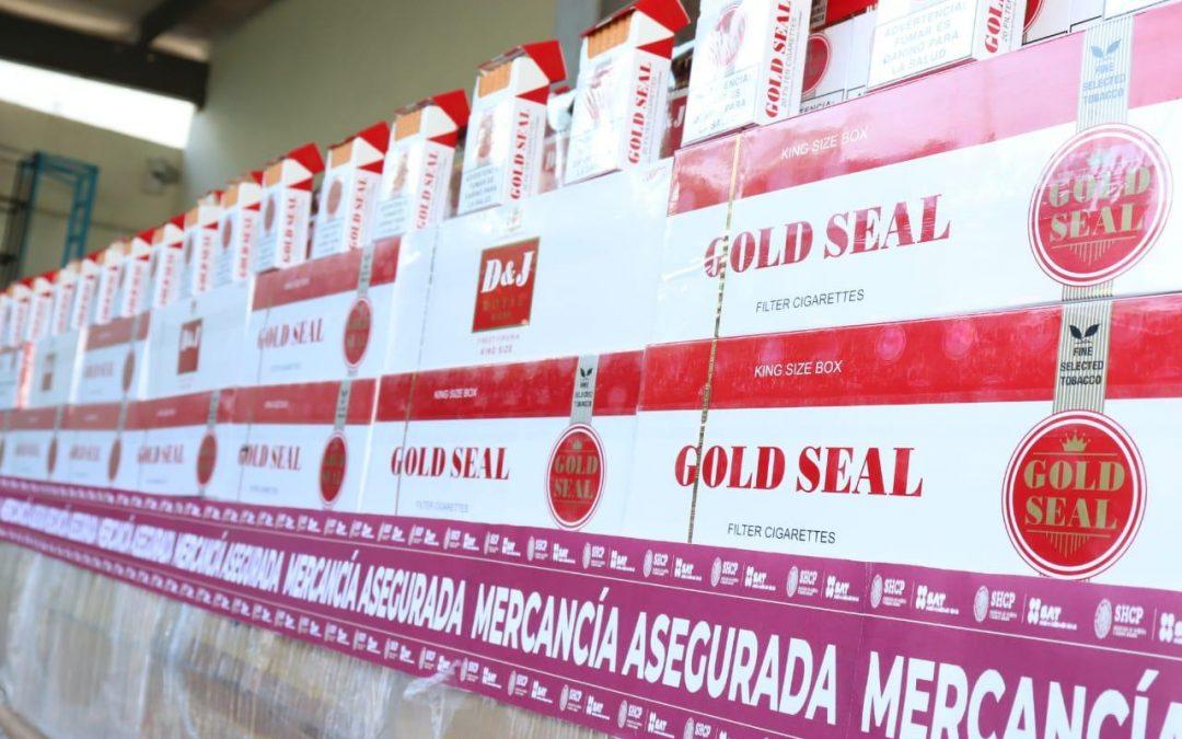 Destruye el SAT más de 3.5 millones de cigarros ilegales